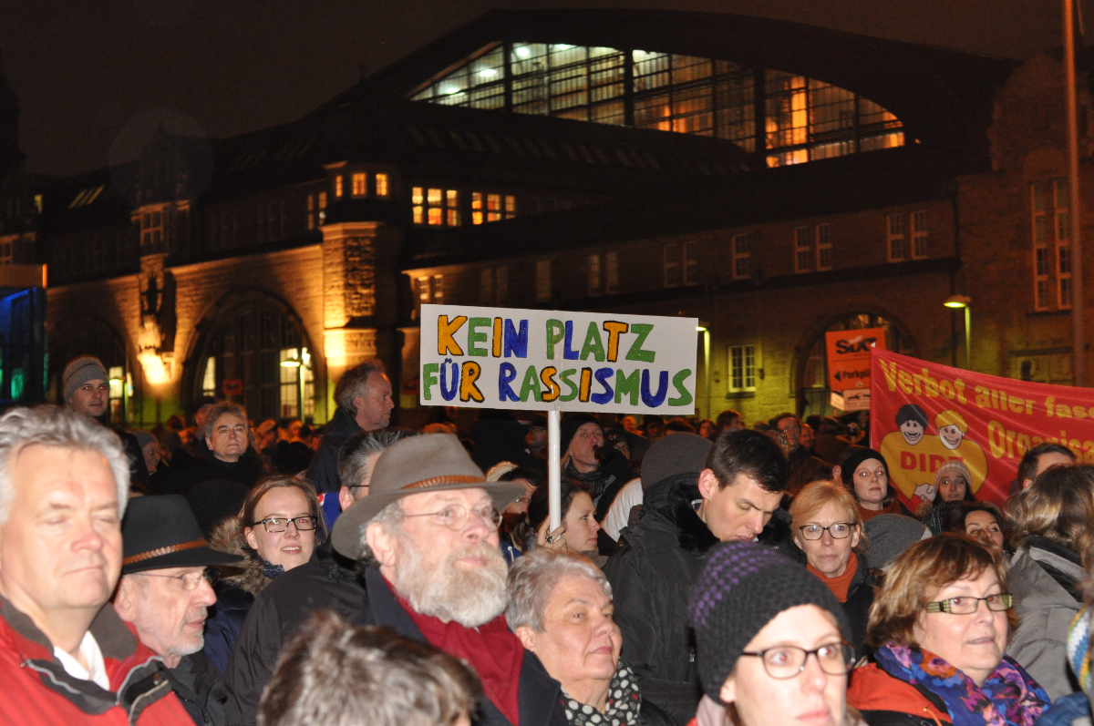 Tegida am 05.01.2015 in Hamburg